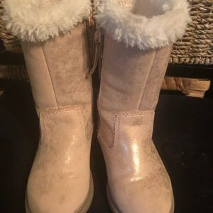 carter's Fur-lined Boots, Size 7